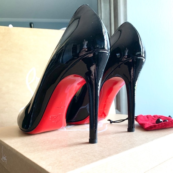 newest 729c8 c85e0 Christian Louboutin Simple Pump 100mm Red Bottomed